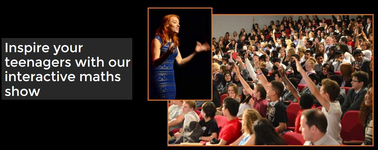 Hannah Fry and audience